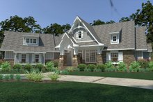 House Plan Design - Cottage Exterior - Front Elevation Plan #120-252
