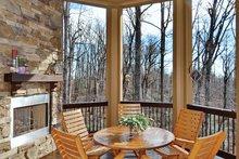 Dream House Plan - European Exterior - Covered Porch Plan #929-21
