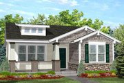 Bungalow Style House Plan - 2 Beds 1 Baths 936 Sq/Ft Plan #50-122 Exterior - Front Elevation