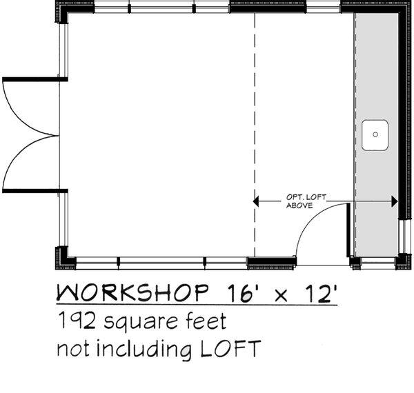 Modern Floor Plan - Main Floor Plan Plan #917-30