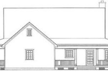 Country Exterior - Rear Elevation Plan #406-150