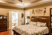 European Style House Plan - 3 Beds 2 Baths 1870 Sq/Ft Plan #430-107 Interior - Master Bedroom