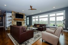 Dream House Plan - Ranch Interior - Family Room Plan #70-1501