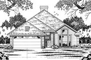 Traditional Style House Plan - 4 Beds 2 Baths 1696 Sq/Ft Plan #42-121 Exterior - Front Elevation
