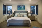 Contemporary Style House Plan - 4 Beds 4.5 Baths 4106 Sq/Ft Plan #48-651 Interior - Master Bedroom