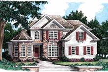 Traditional Exterior - Front Elevation Plan #927-28