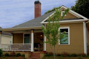 Cottage Exterior - Front Elevation Plan #30-199