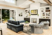 Country Style House Plan - 3 Beds 2 Baths 1936 Sq/Ft Plan #406-9659 Interior - Family Room