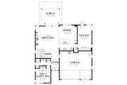 Contemporary Style House Plan - 4 Beds 3 Baths 2873 Sq/Ft Plan #48-706 Floor Plan - Main Floor