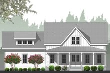 Farmhouse Exterior - Rear Elevation Plan #461-71