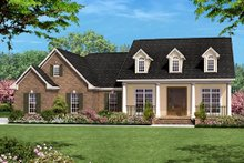 Home Plan - Country Exterior - Front Elevation Plan #430-15