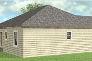 Cottage Style House Plan - 2 Beds 2 Baths 1073 Sq/Ft Plan #44-178 Exterior - Other Elevation
