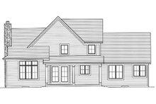 Home Plan - European Exterior - Rear Elevation Plan #46-477