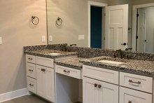 Ranch Interior - Master Bathroom Plan #437-88