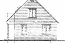 Home Plan - Country Exterior - Rear Elevation Plan #23-2095