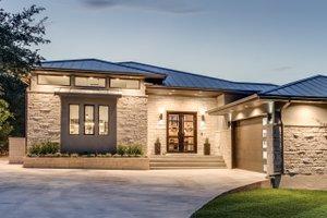 House Plan Design - Contemporary Exterior - Front Elevation Plan #935-14