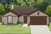 Traditional Style House Plan - 3 Beds 2 Baths 1325 Sq/Ft Plan #84-542 Exterior - Front Elevation
