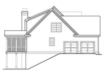 Dream House Plan - Country Exterior - Other Elevation Plan #927-9