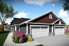 Ranch Exterior - Front Elevation Plan #70-1473