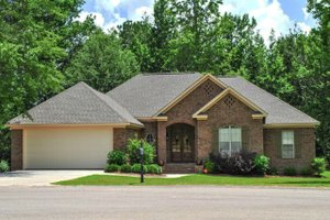 Home Plan - Traditional Exterior - Front Elevation Plan #430-87