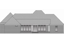 Dream House Plan - Southern Exterior - Rear Elevation Plan #430-49