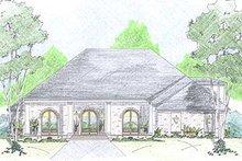 Dream House Plan - European Exterior - Front Elevation Plan #36-468