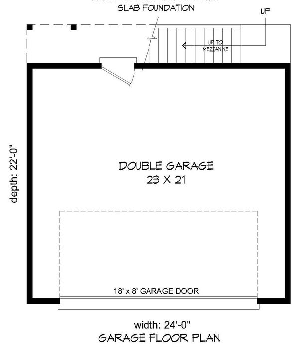 Contemporary Floor Plan - Main Floor Plan Plan #932-157