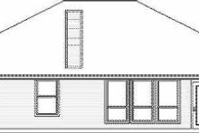 Dream House Plan - Traditional Exterior - Rear Elevation Plan #84-120