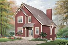 Dream House Plan - Colonial Exterior - Front Elevation Plan #23-662