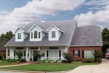 Country Exterior - Front Elevation Plan #84-239