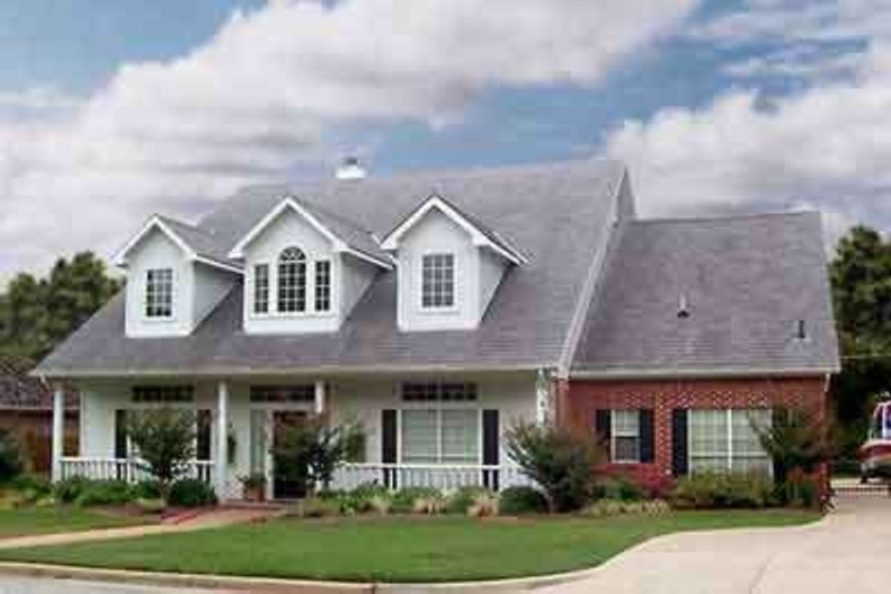 Country Exterior - Front Elevation Plan #84-239 - Houseplans.com