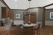 Cottage Style House Plan - 3 Beds 3 Baths 1898 Sq/Ft Plan #56-716 Interior - Kitchen