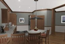 Cottage Interior - Kitchen Plan #56-716