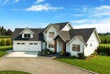 Home Plan - Farmhouse Exterior - Front Elevation Plan #1070-10