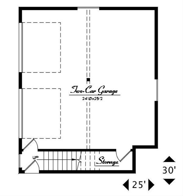 Craftsman Floor Plan - Main Floor Plan #487-4
