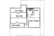 Country Floor Plan - Upper Floor Plan Plan #117-275