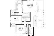 Prairie Style House Plan - 4 Beds 3.5 Baths 3651 Sq/Ft Plan #48-245 Floor Plan - Upper Floor