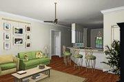 Southern Style House Plan - 3 Beds 2 Baths 1640 Sq/Ft Plan #44-168