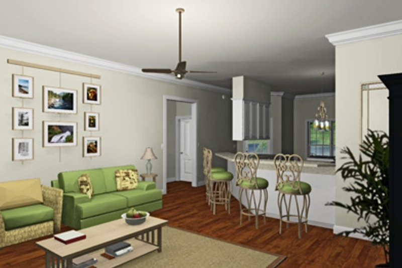 Southern Photo Plan #44-168 - Houseplans.com