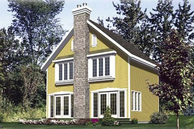Traditional Style House Plan - 3 Beds 1.5 Baths 1194 Sq/Ft Plan #138-166 Exterior - Front Elevation