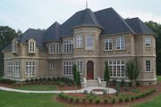 European Style House Plan - 5 Beds 4 Baths 4515 Sq/Ft Plan #119-241 Exterior - Other Elevation