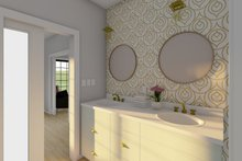 Dream House Plan - Farmhouse Interior - Master Bathroom Plan #126-236