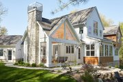 Farmhouse Style House Plan - 5 Beds 3.5 Baths 4478 Sq/Ft Plan #928-308 Exterior - Other Elevation