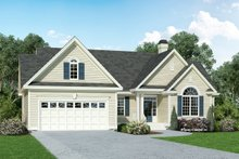 House Plan Design - Traditional Exterior - Front Elevation Plan #929-880