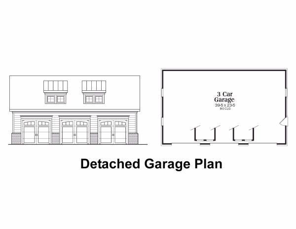Traditional Floor Plan - Other Floor Plan #419-123