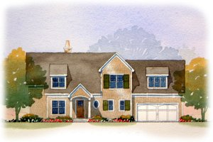 Traditional Exterior - Front Elevation Plan #901-69