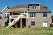 House Plan Design - Traditional Exterior - Rear Elevation Plan #927-26