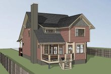 Home Plan - Bungalow Exterior - Other Elevation Plan #79-275