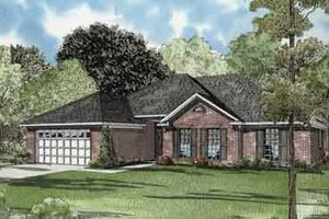 Traditional Exterior - Front Elevation Plan #17-2088