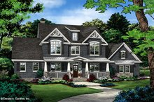 Dream House Plan - Craftsman Exterior - Front Elevation Plan #929-60